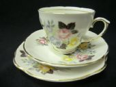 Duchess china 'Mossleigh' tea trio